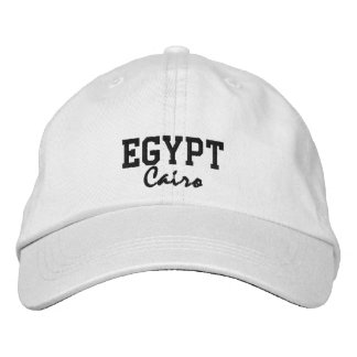 Gorra del personalizado de Egipto, El Cairo Gorra De Béisbol Bordada