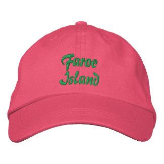 Gorra del personalizado de Faroe Island Gorras De Beisbol Bordadas