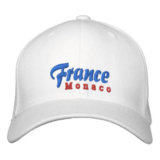 Gorra del personalizado de Francia, Mónaco Gorra De Béisbol