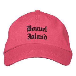 Gorra del personalizado de la isla de Bouvet Gorras De Beisbol Bordadas