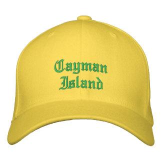 Gorra del personalizado de la isla de s del caimán gorra bordada
