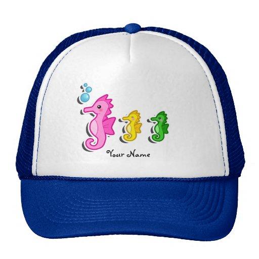 Gorra del personalizado de los Seahorses