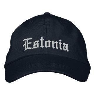 Gorra del personalizar de Estonia Gorra De Béisbol Bordada