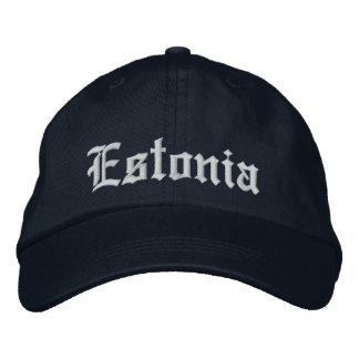 Gorra del personalizar de Estonia Gorras Bordadas