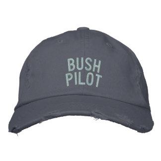 Gorra del piloto de Bush Gorras Bordadas
