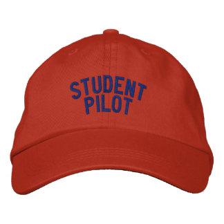 Gorra del piloto de estudiante gorra de beisbol bordada