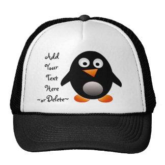 Gorra del pingüino