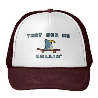 Gorra del pingüino de Rollin