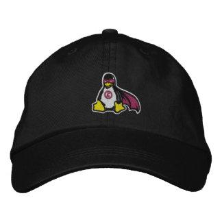 Gorra del pingüino del vengador de Linux Gorra De Béisbol Bordada