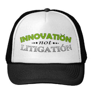 Gorra del pleito de la innovación NO