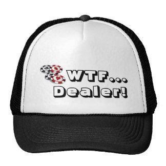 Gorra del póker: ¡WTF…, distribuidor autorizado!