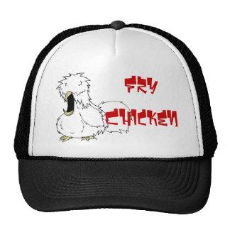 Gorra del pollo de la fritada