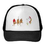 gorra del pollo del zombi