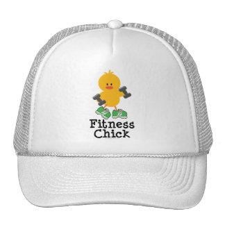 Gorra del polluelo de la aptitud