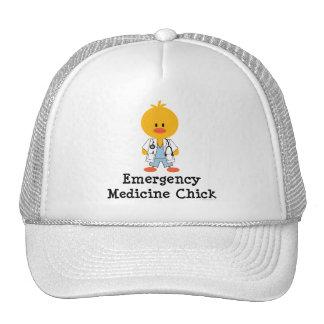 Gorra del polluelo de la medicina de la emergencia