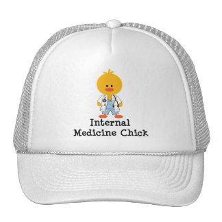 Gorra del polluelo de la medicina interna