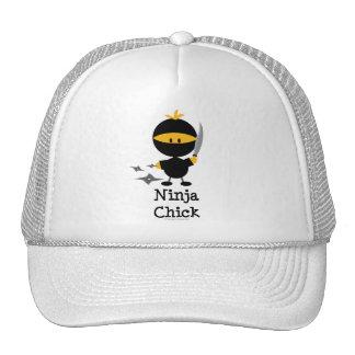 Gorra del polluelo de Ninja
