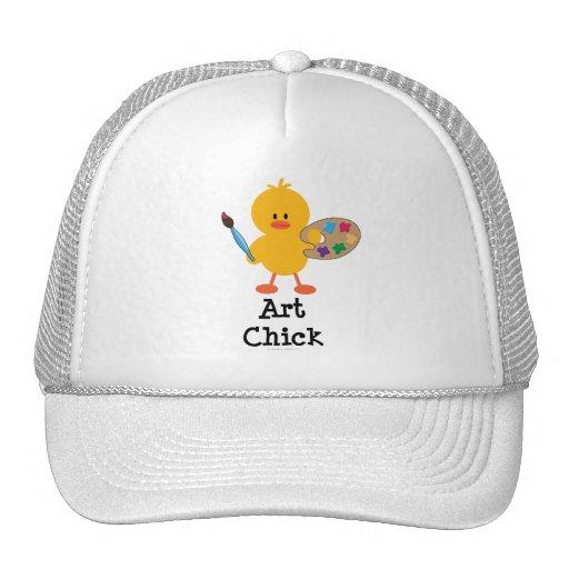 Gorra del polluelo del arte