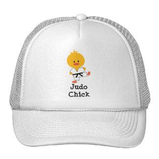 Gorra del polluelo del judo