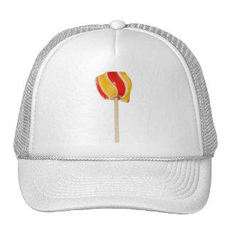 Gorra del polo del caramelo