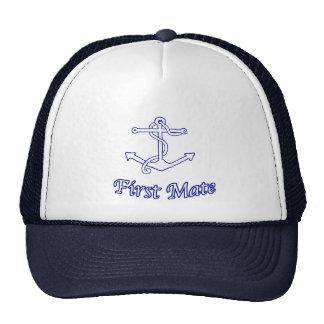 Gorra del primer compañero de las naves