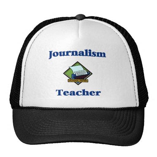 Gorra del profesor del periodismo
