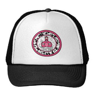 Gorra del profesor - salpicadura negra de la pintu