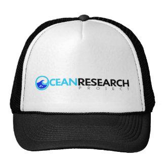 Gorra del proyecto de investigación del océano