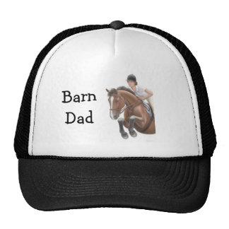 Gorra del puente del caballo del papá del granero