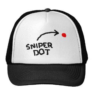 Gorra del punto del francotirador