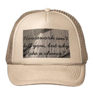 gorra del quehacer doméstico