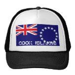 Gorra del recuerdo de la bandera de las islas de c