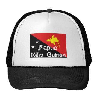Gorra del recuerdo de la bandera de Papúa Nueva Gu