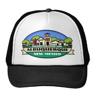 Gorra del recuerdo de la ciudad de Albuquerque New