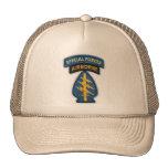 gorra del remiendo de los veteranos de las fuerzas