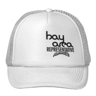 gorra del representante de la bahía