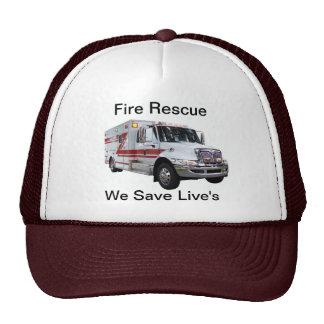 Gorra del rescate del fuego