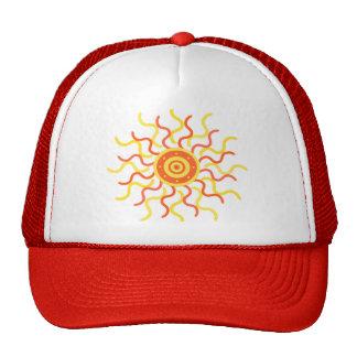 Gorra del resplandor solar