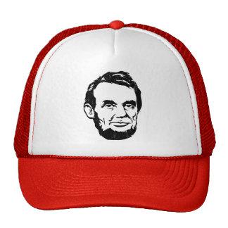 Gorra del retrato de Abraham Lincoln