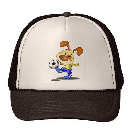 Gorra del retroceso del fútbol