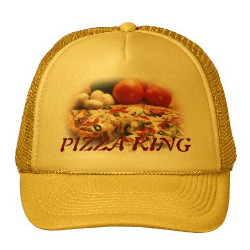 gorra del rey de la pizza