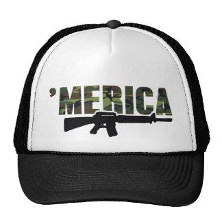 Gorra del rifle de MERICA de Camo '