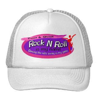 Gorra del rollo de la roca n