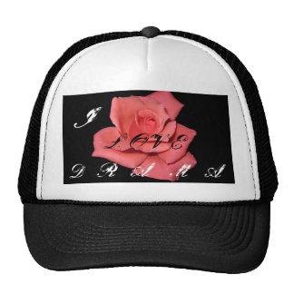 Gorra del rosa rojo