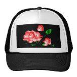 "Gorra del ""rosa rojo"" - personalizable"