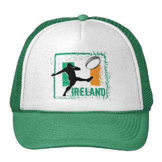 Gorra del rugbi de Irlanda