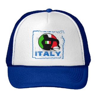 Gorra del rugbi de Italia