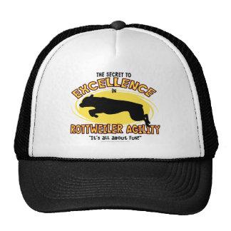 Gorra del secreto de Rottweiler de la agilidad