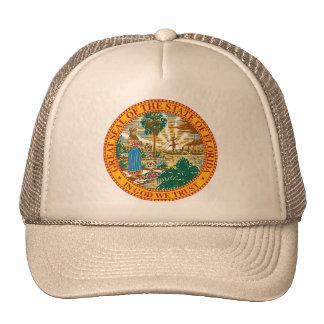 Gorra del sello de la Florida