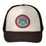 Gorra del sello de Michigan